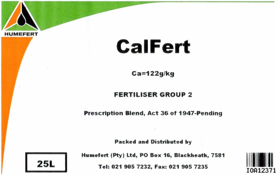 CalFert Liquid Fertilizer