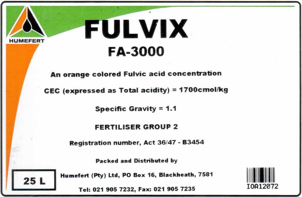 Fulfix 500 / Fulfix 3000