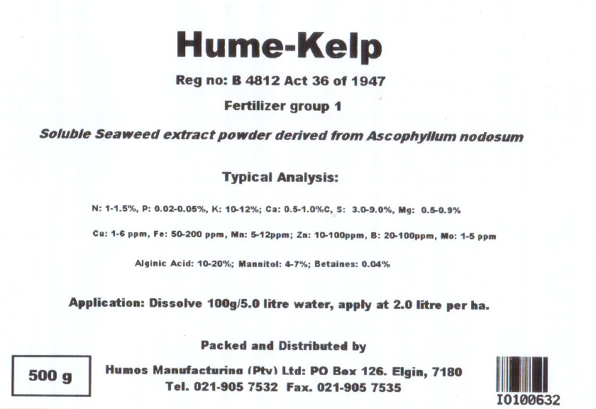 Hume-Kelp label